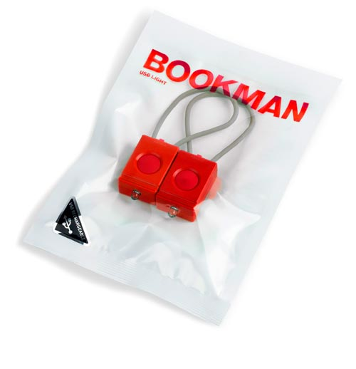 Bookman Raging Red