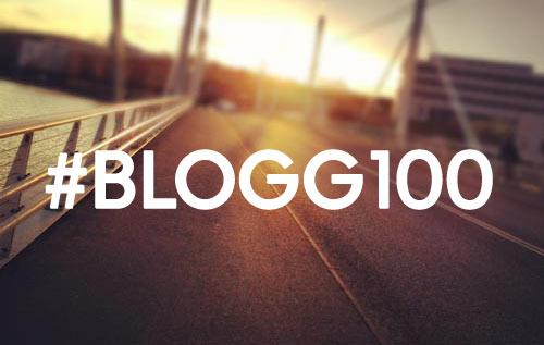 Under hashtagen #blogg100 bloggar jag minst ett inlägg varje dag.