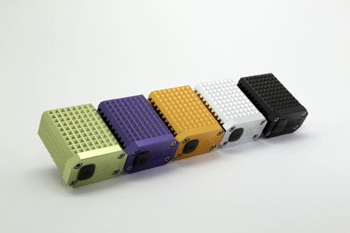 FAPZ Kentro Mini kommer i fem färger: lime, lila, guld, silver och svart.