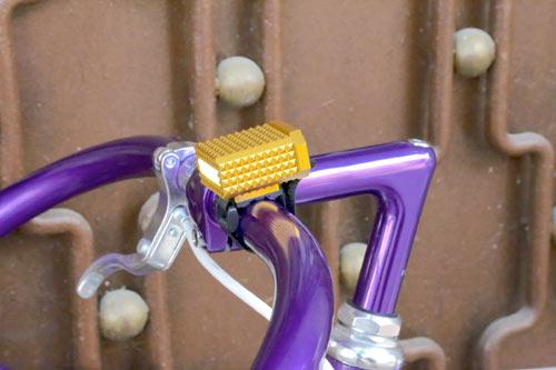 FAPZ Kentro Mini i guldfärgat chassi.