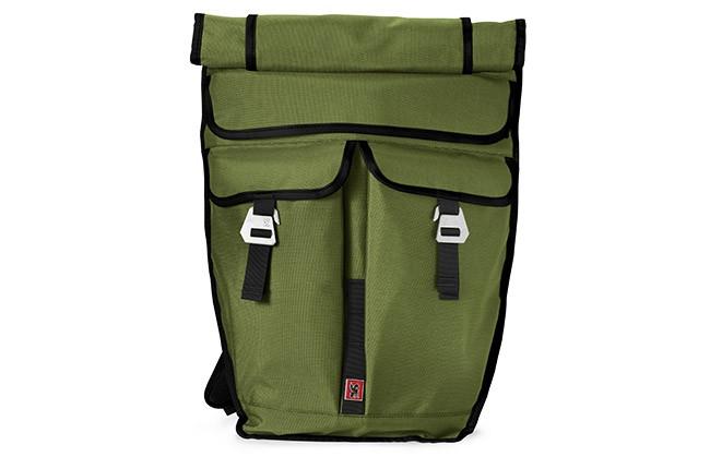 Chrome Pawn, en ryggsäck för cyklister, i olivgrön.