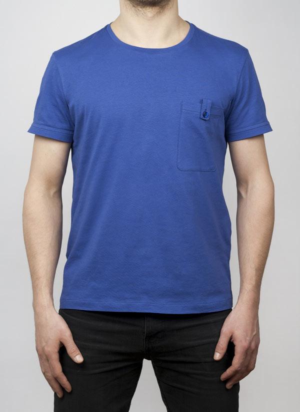 Bookman Cycling T-shirt i blått.