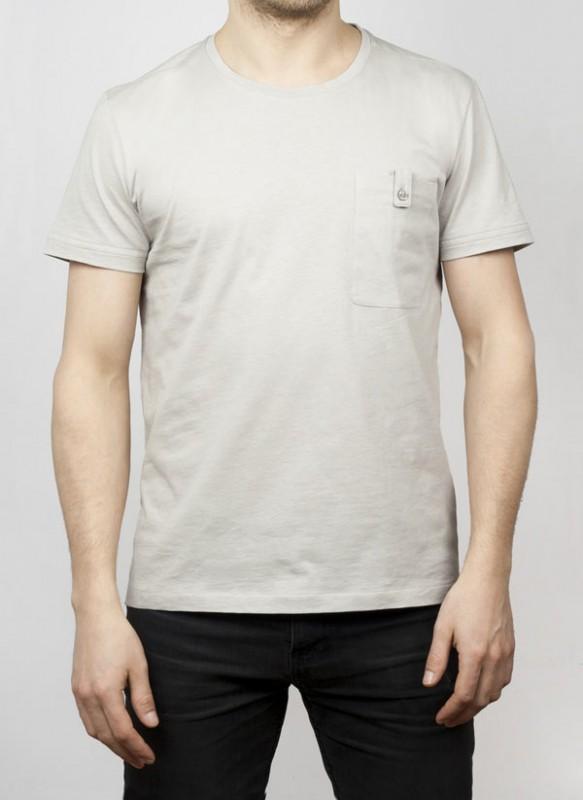 Bookman Cycling T-shirt i grått.