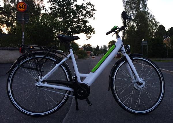 Ikea Folkvänlig, elcykel från Ikea.