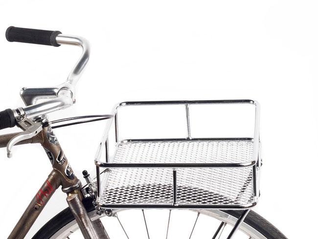 BLB Take Away Tray från Brick Lane Bikes i kromat utförande.