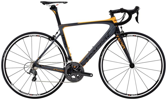 Nytt år betyder cykelrea. Här en Crescent Tera 2015.
