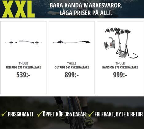 Cykelhållare från XXL