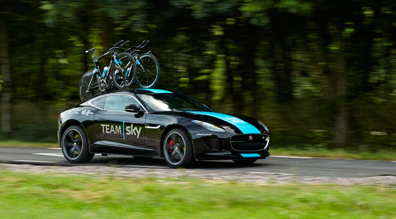 Cykelhållare för tak, Team Sky Jaguar