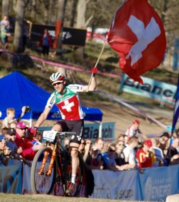 EM-guld till Schweiz i Team Relay (stafett)