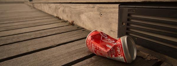 Coca Cola-burk